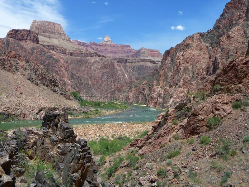 grand canyon arizona stockbild bild von schlucht w ste 12076979. Black Bedroom Furniture Sets. Home Design Ideas
