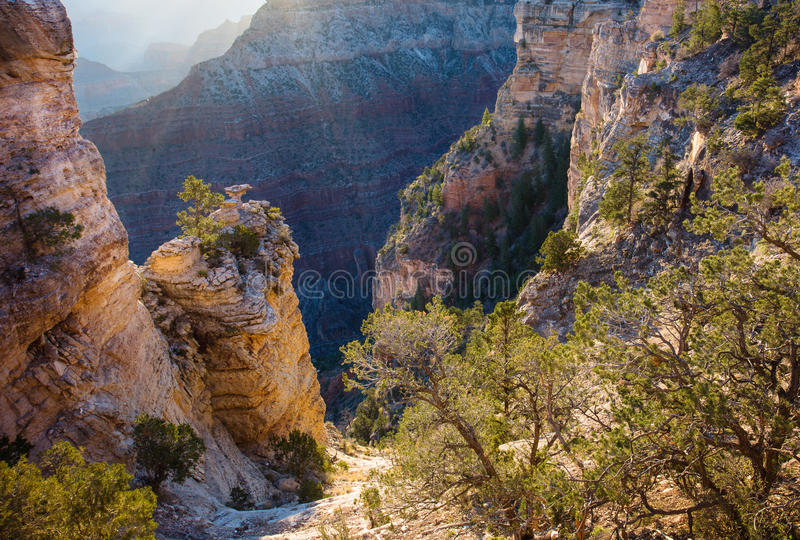 Grand Canyon, Arizona stockfotos