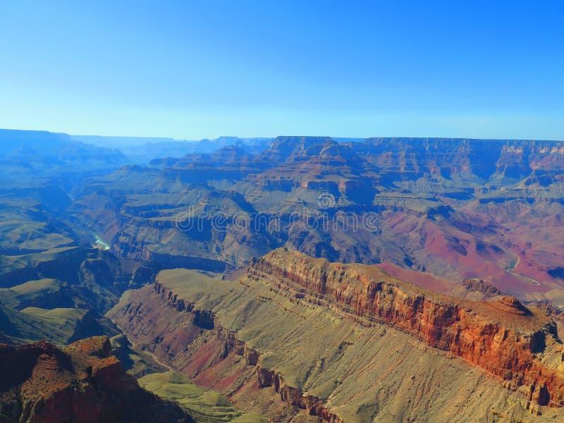 Grand Canyon in Arizona fotografia stock libera da diritti