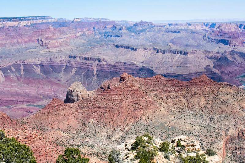 Grand Canyon, Arizona, Stany Zjednoczone Ameryka, westernu krajobraz i natura, zdjęcie royalty free