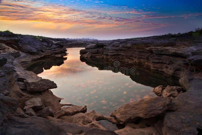 Grand Canyon av Asien, Thailand fotografering för bildbyråer