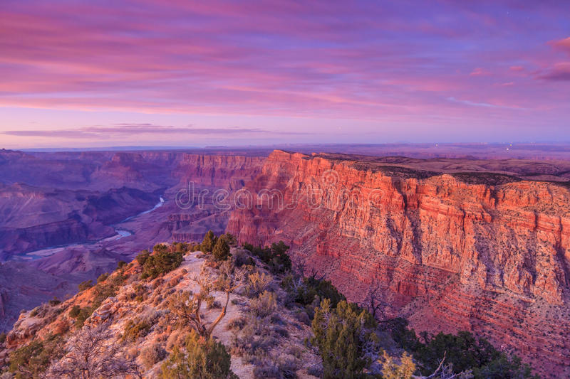 Grand Canyon. Beautiful Landscape of Grand Canyon from Desert View Point royalty free stock photos