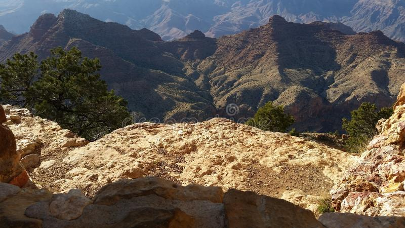 Grand Canyon, borda sul 1 foto de stock