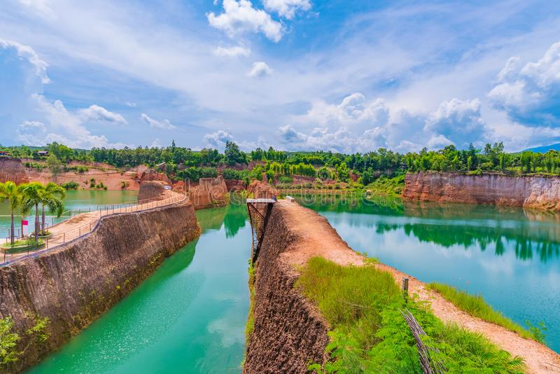 Grand Canyon in Chiang Mai. Thailand royalty free stock images