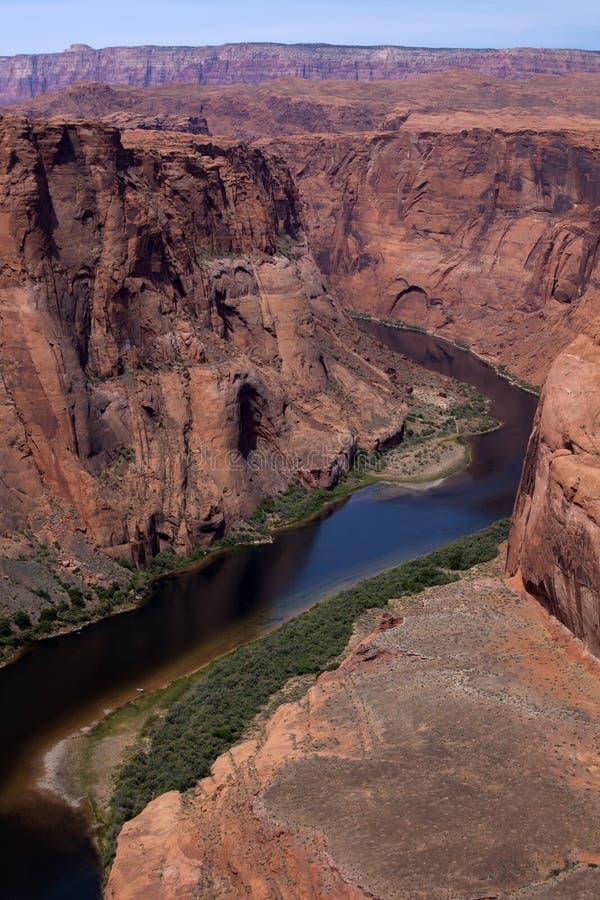 Grand Canyon - Colorado River stock image