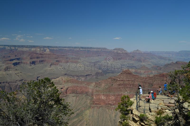 Grand Canyon Of The Colorado River. South Kaibab Trailhead. Geological formations. stock images