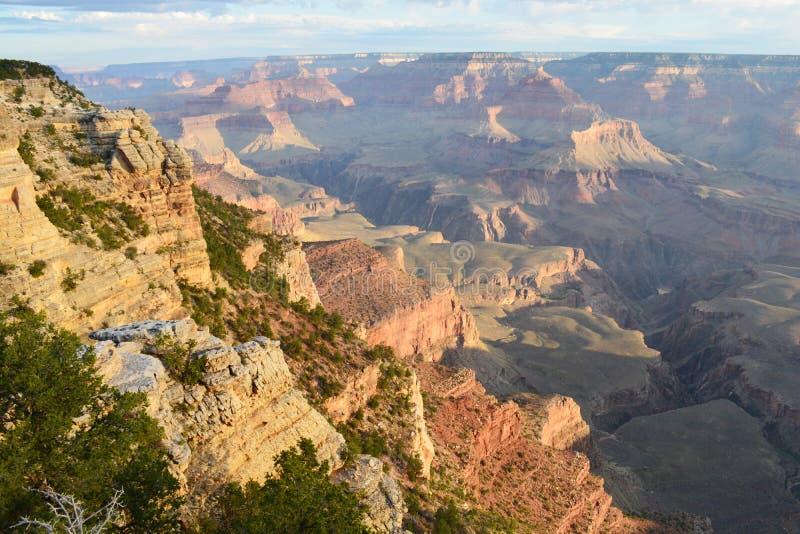 Grand Canyon colorido fotografia de stock