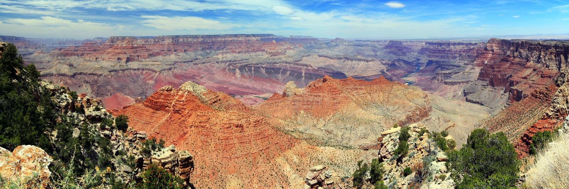 Grand Canyon da punto navajo, parco nazionale di Grand Canyon, Arizona fotografia stock libera da diritti