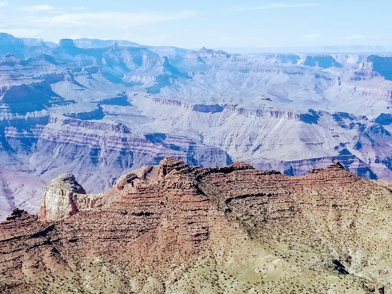Grand Canyon de exploración Arizona los E.E.U.U. foto de archivo libre de regalías