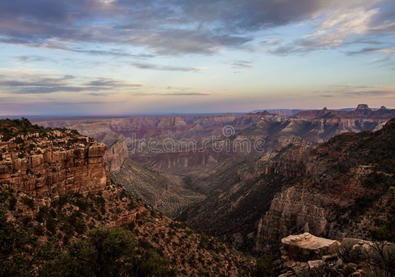 Grand Canyon 2 del nord fotografie stock