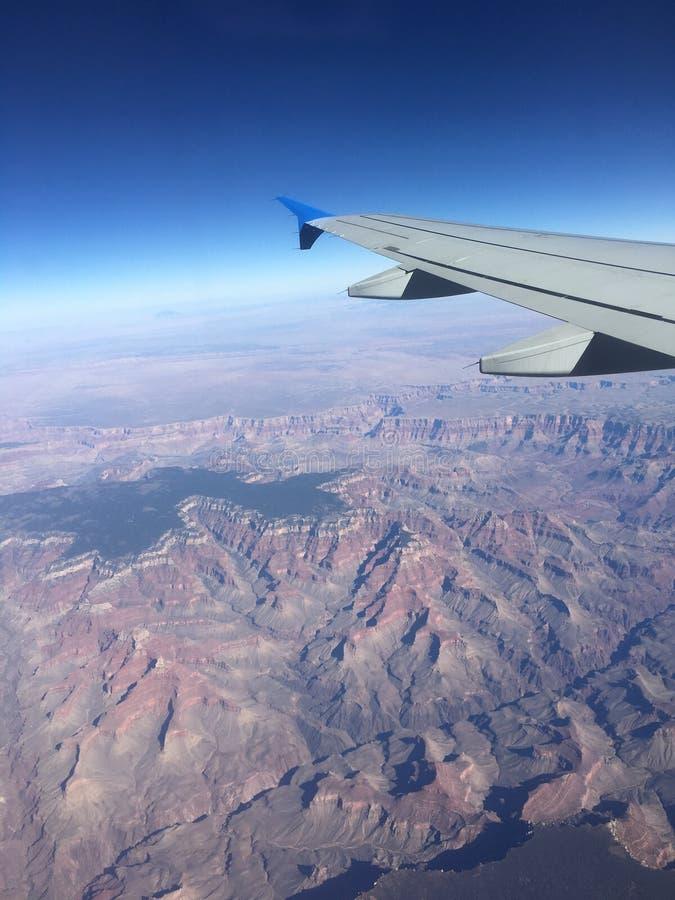 Grand Canyon dell'aeroplano immagine stock libera da diritti
