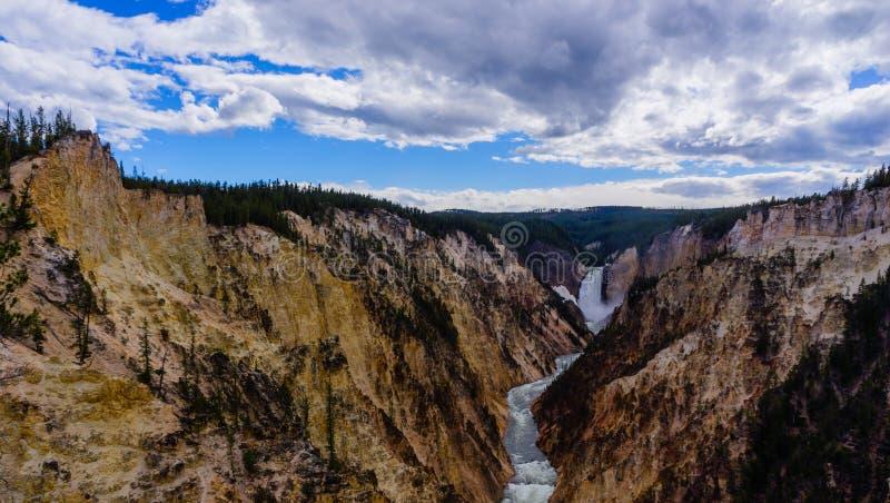 Grand Canyon des gelben Steinnationalparks lizenzfreie stockbilder