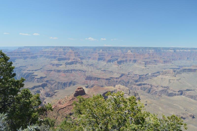 Grand Canyon des Kolorado-Flusses E Geologische Anordnungen lizenzfreies stockbild