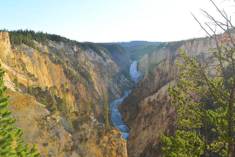 Grand Canyon des Yellowstone lizenzfreie stockfotos
