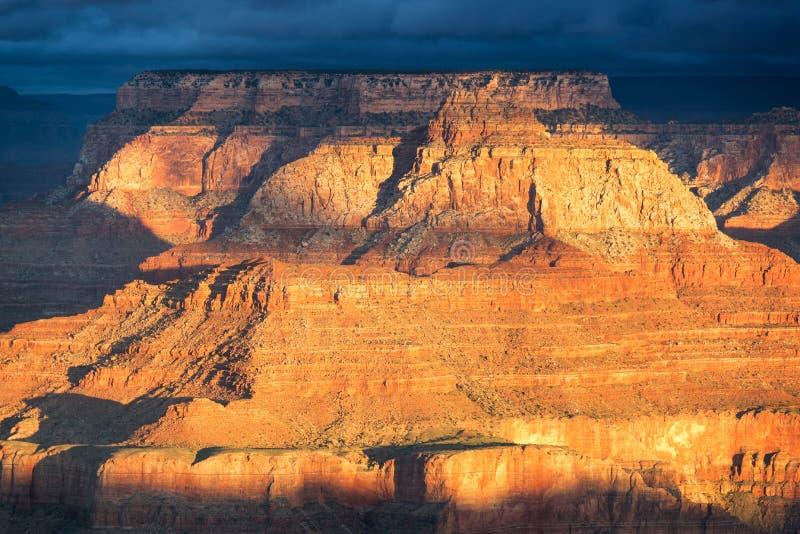 Grand Canyon detaljer arkivfoton