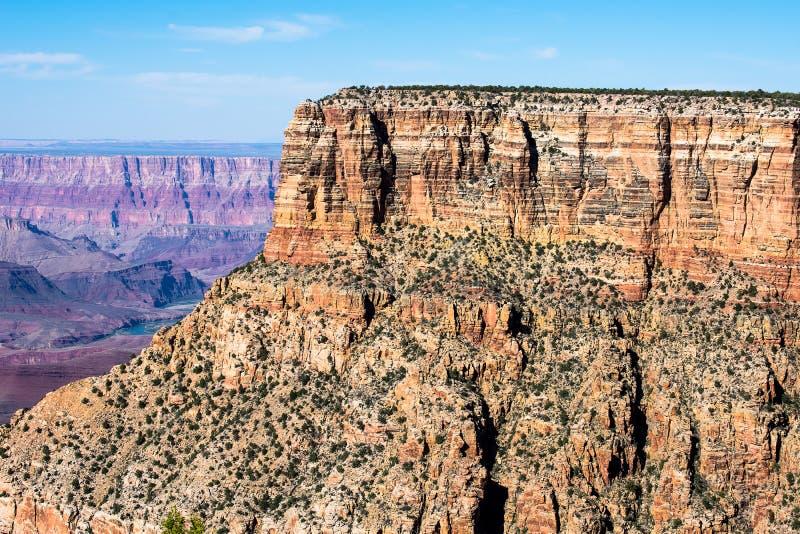 Grand Canyon, die Vereinigten Staaten von Amerika lizenzfreie stockfotografie