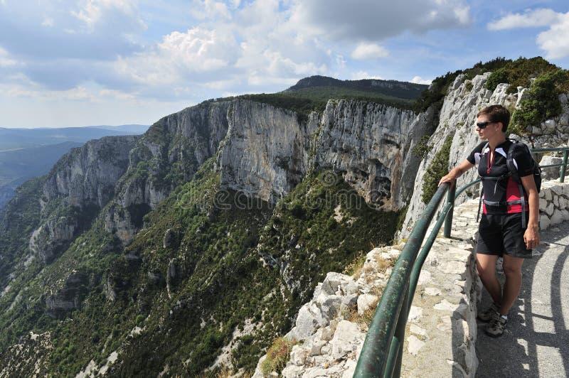 Grand Canyon du Verdon, Provence, France photographie stock libre de droits