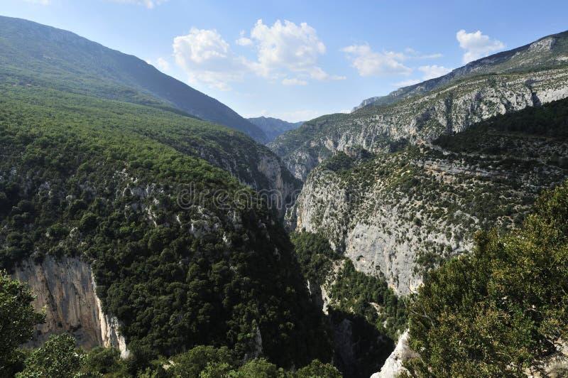 Grand Canyon du Verdon, Provence, Francia foto de archivo