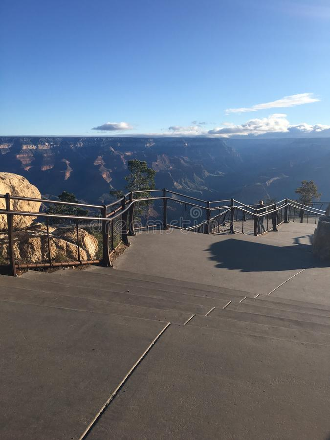 Grand Canyon experience royalty free stock images