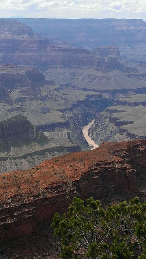 Grand Canyon. The greatest canyon of all. The Grand Canyon royalty free stock photos