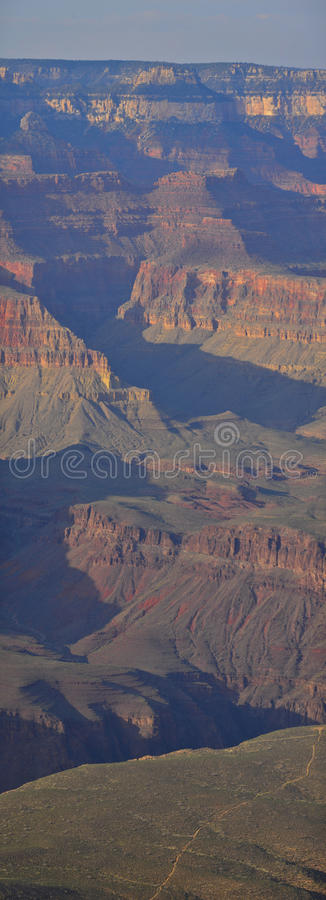 Grand Canyon hohes Def lizenzfreie stockbilder
