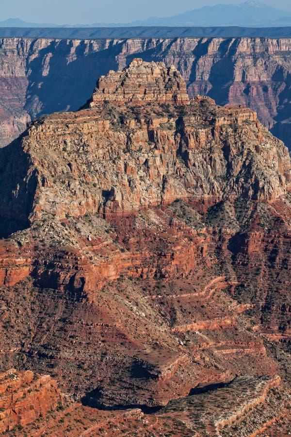 Grand Canyon irregolare Rim Landscape del nord fotografia stock libera da diritti