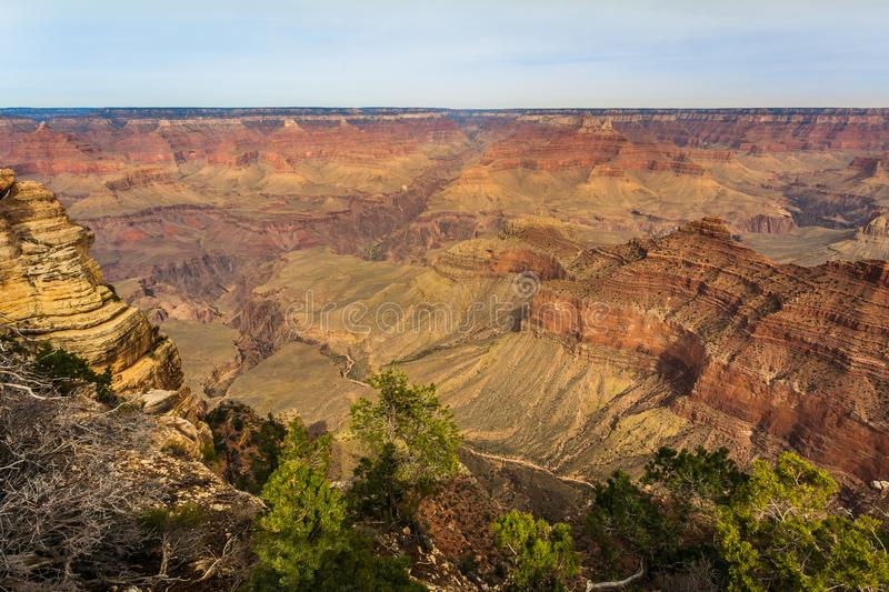 Grand Canyon majestueux, Arizona, Etats-Unis image libre de droits