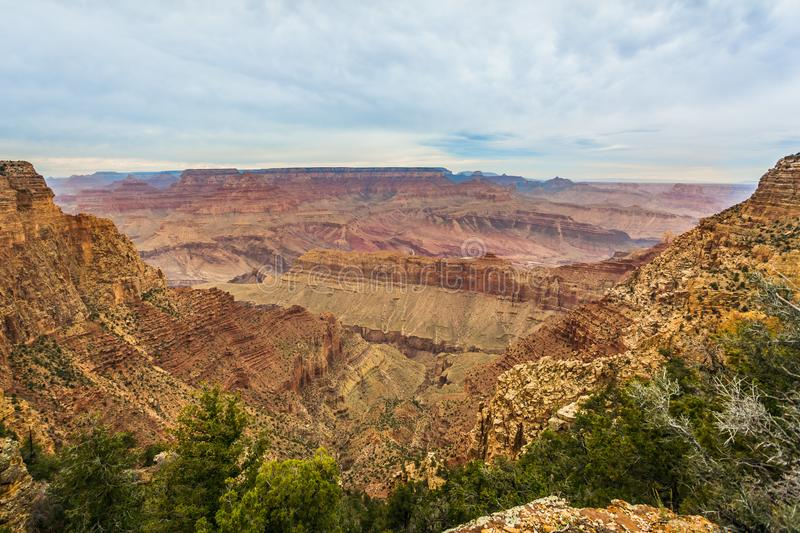 Grand Canyon majestueux, Arizona, Etats-Unis photographie stock libre de droits