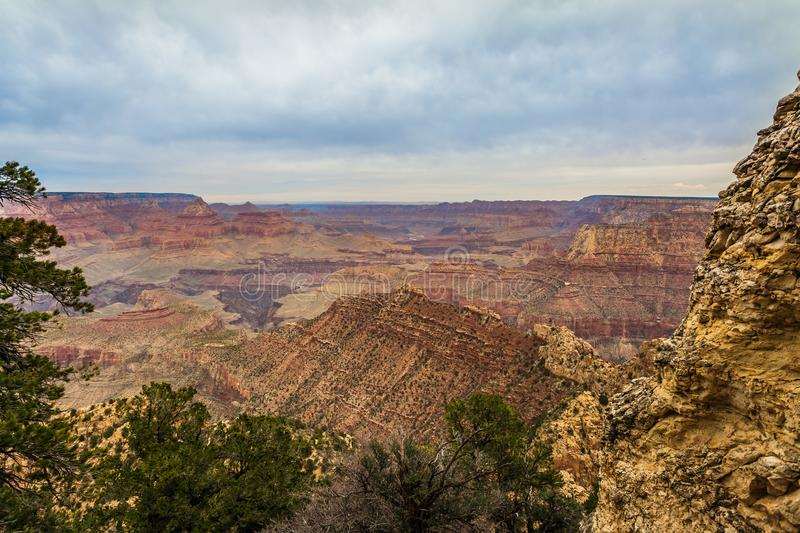 Grand Canyon majestueux, Arizona, Etats-Unis photo stock