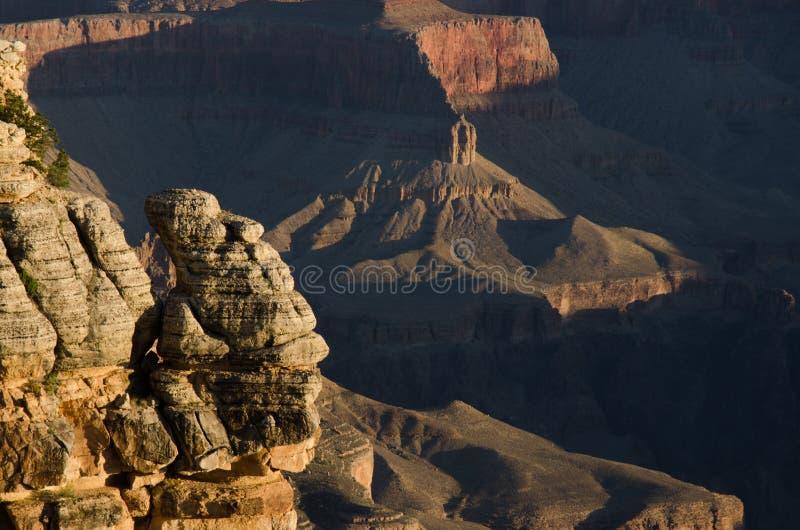 Grand Canyon Mather Point Sunrise stock foto
