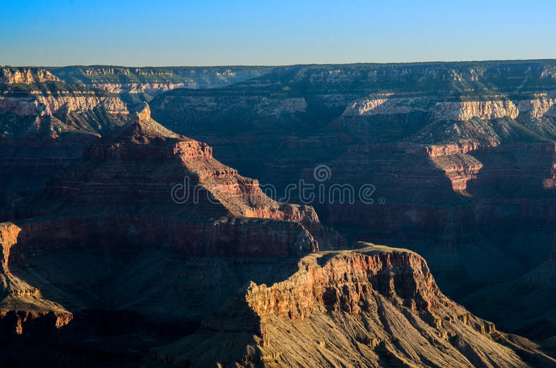 Grand Canyon Mather Point Sunrise stock fotografie