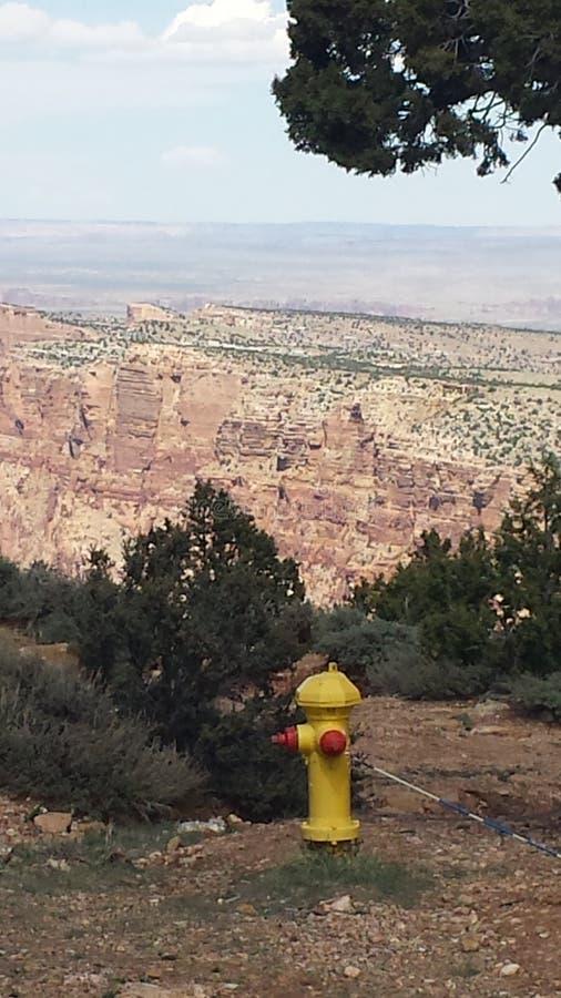 Grand Canyon minha opinião fotografia de stock