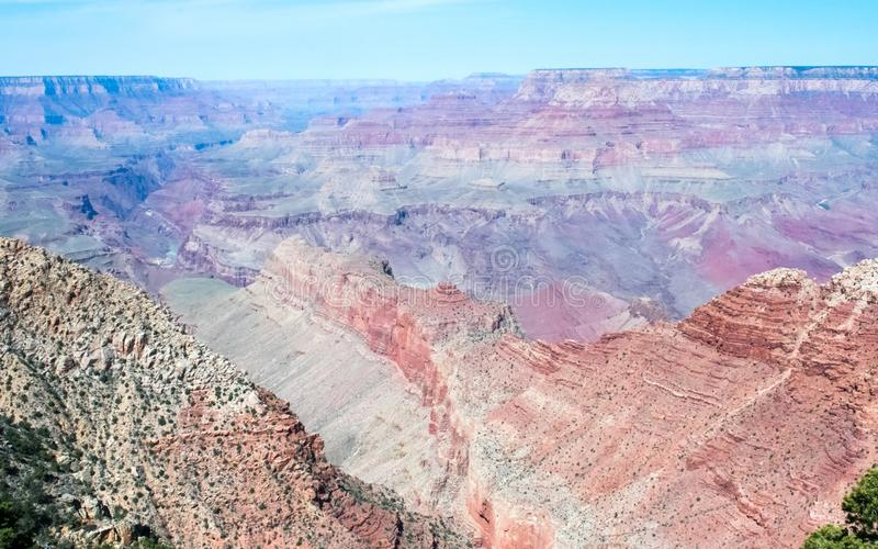 Grand Canyon Mountain and Desert Landscape, America royalty free stock photo