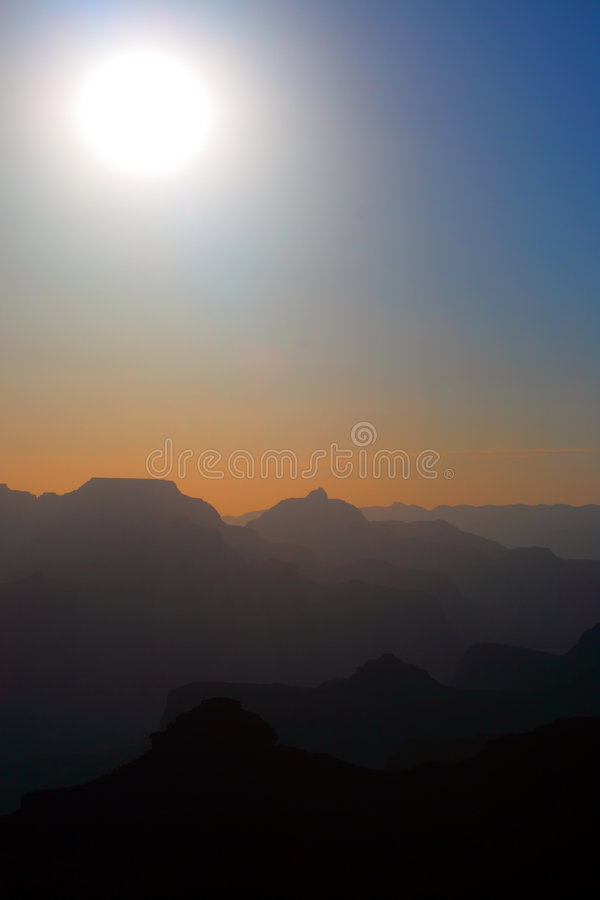 Grand Canyon National Park, USA. Grand Canyon National Park (South Rim), USA royalty free stock image