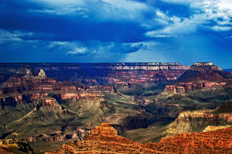 Grand Canyon nationalpark 1 royaltyfri bild