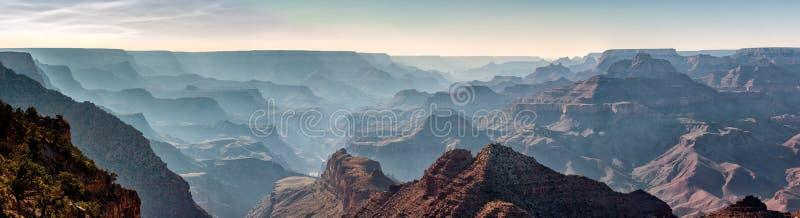Grand Canyon nationalparkpanorama royaltyfri bild
