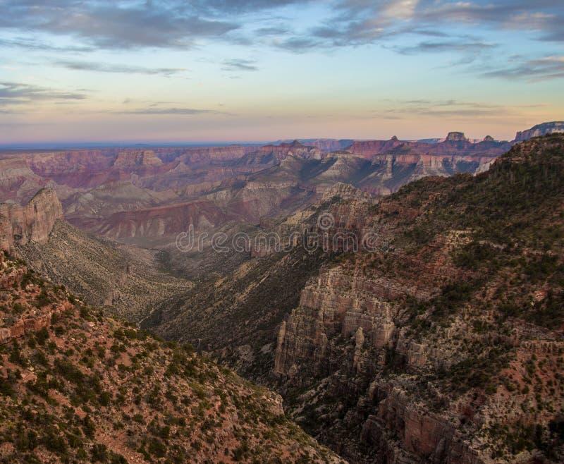 Grand Canyon norr 3 arkivbilder
