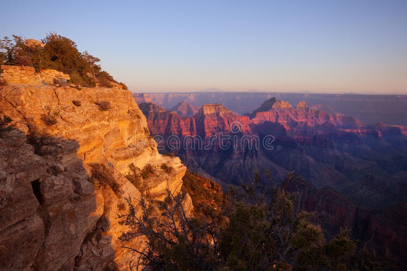 Download Grand Canyon North Rim stock photo. Image of canyon, sunset - 26189570