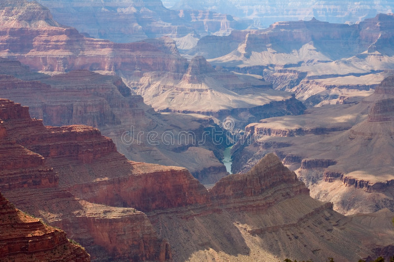 grand canyon np fotografia stock