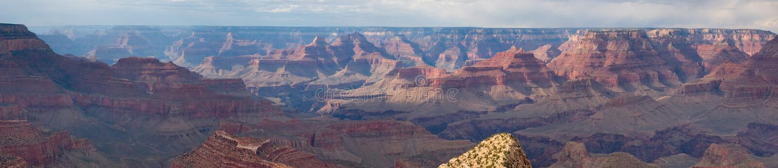 Grand Canyon NP panorama royalty free stock images