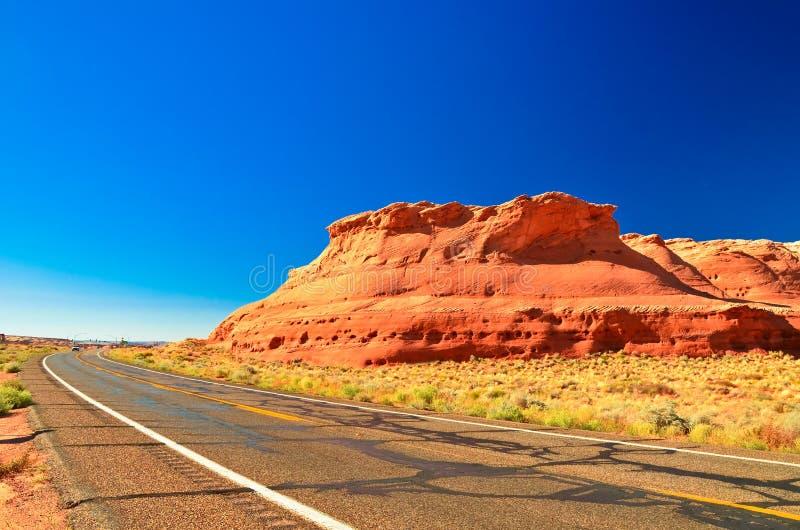 Paisagem dos EUA, Grand Canyon. O Arizona, Utá, Estados Unidos da América imagens de stock royalty free