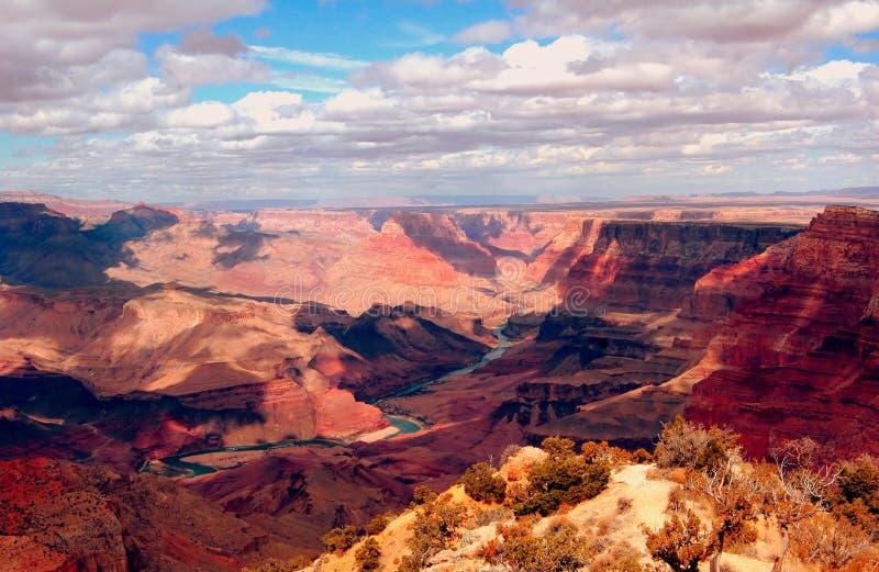 grand canyon obręcz na południe obrazy stock