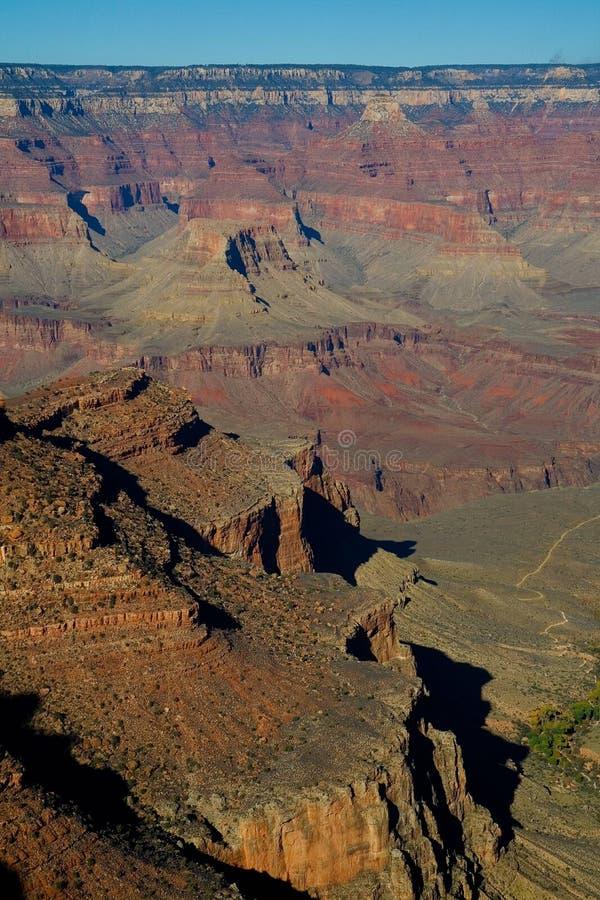 grand canyon obręcz na południe zdjęcie stock