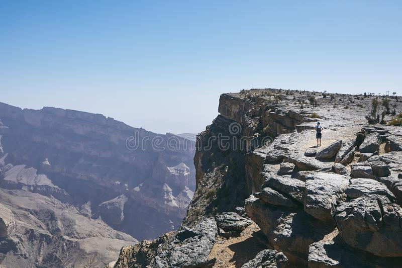 Grand Canyon of Oman royalty free stock photos