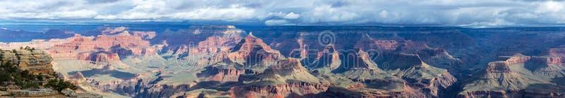 Grand Canyon panoramasikt royaltyfri foto