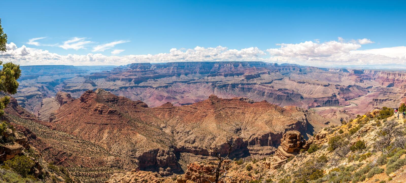 Grand Canyon - Panoramic Desert View stock photo