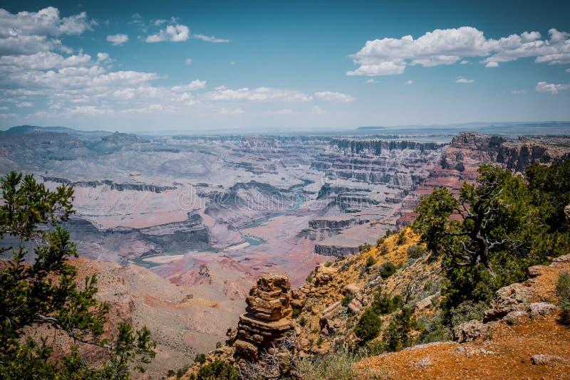 Grand Canyon pittoresque au lever de soleil photo libre de droits