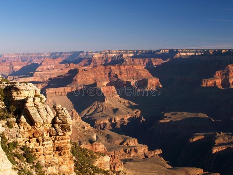 grand canyon ranek lekki obraz stock
