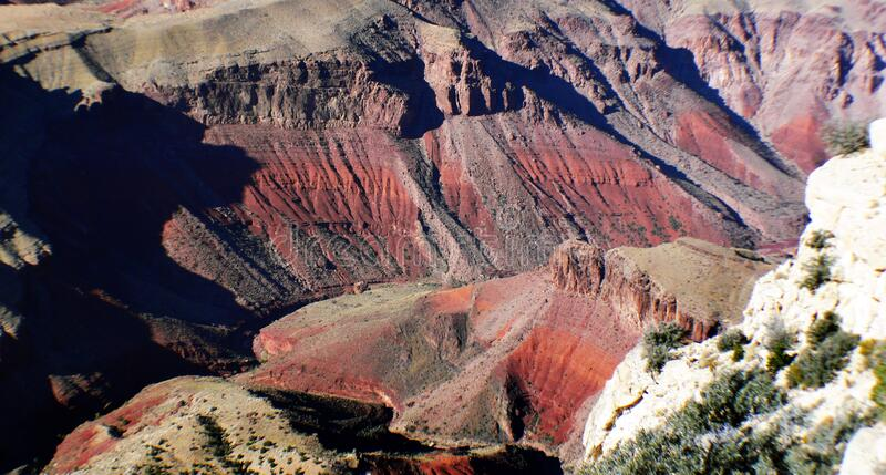 The Grand Canyon. royalty free stock images