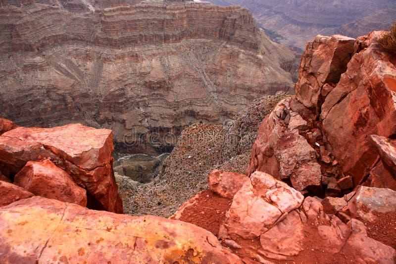 Grand canyon rock stock photo
